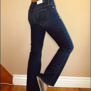 7 For All Mankind Petite Distressed Jeans 26 Flare